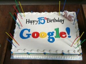Google 15 jaar