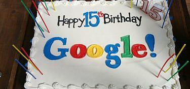 Google viert 15e verjaardag