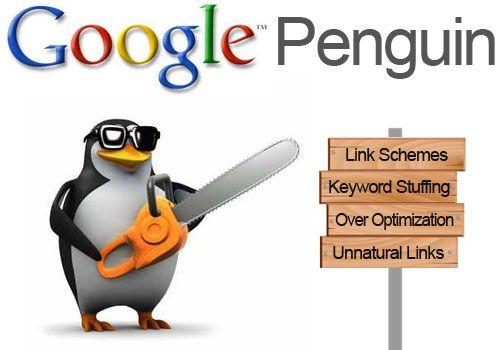 Herstellen van de Penguin update