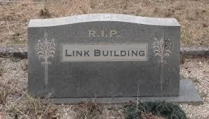 Linkbuilding verleden tijd!