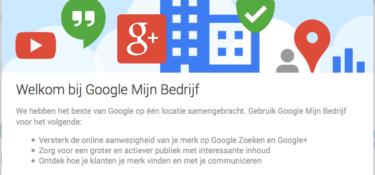Google Mijn Bedrijf vervangt Google Places