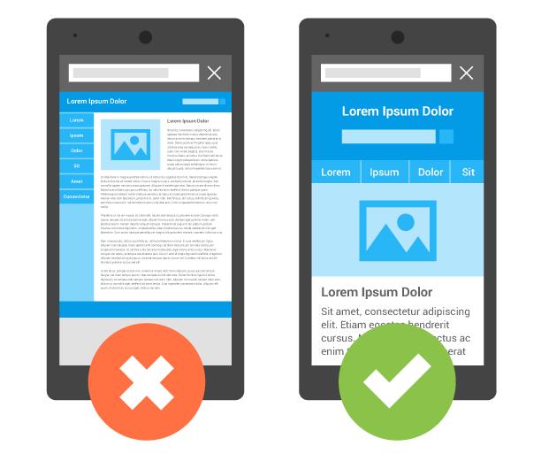 Mobiel vriendelijk webdesign