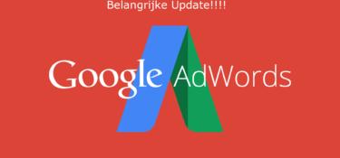 Google Advertenties aan rechterzijde zijn weg!