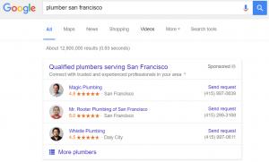 Google Lokale diensten