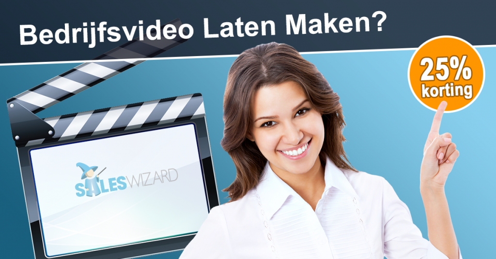 25% korting op je professionele bedrijfsvideo