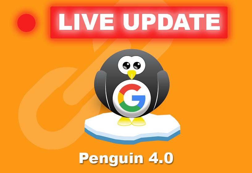 Penguin 4.0 is Live! Houd je website in de gaten!