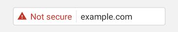 Waarschuwing Chrome