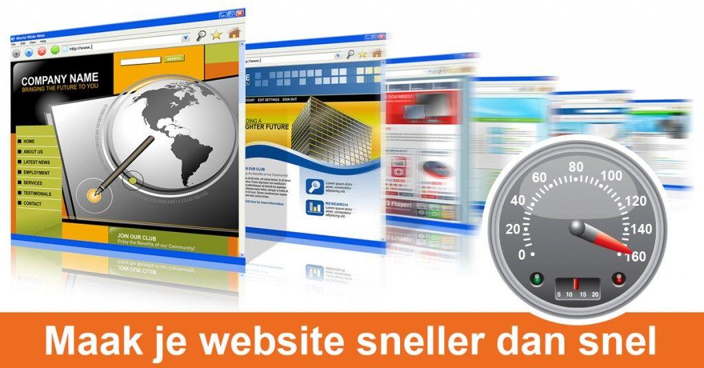 Website snelheid verbeteren