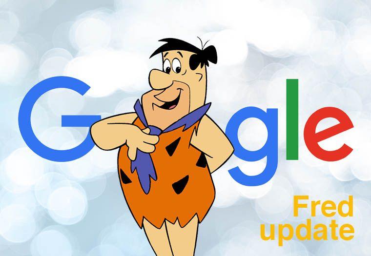 Google Fred Update straft 'foute' websites af!