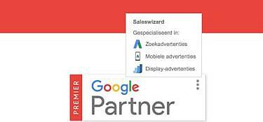 Saleswizard is Google Premier Partner geworden!
