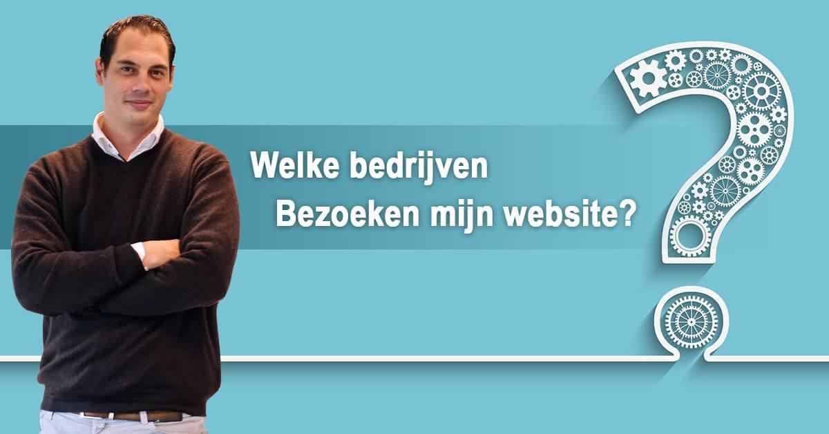 welke bedrijven bezoeken mijn website