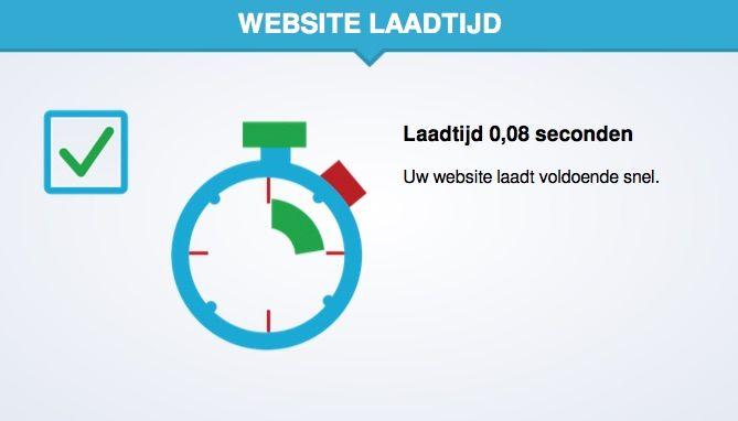 Optimalisatie van de snelheid van de website