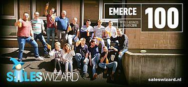 Saleswizard behoort tot de Emerce Top 100!