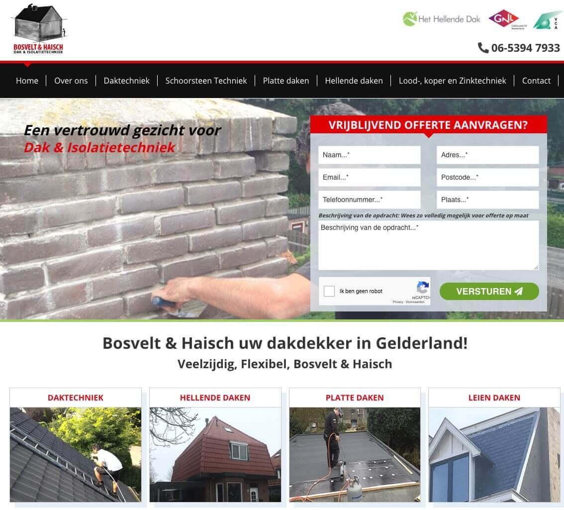 Webdesign Dakdekkers