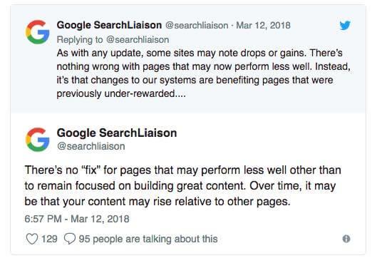 Herstellen van Google Update?