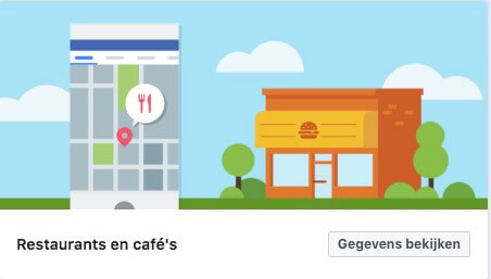 Restaurant Facebook sjabloon
