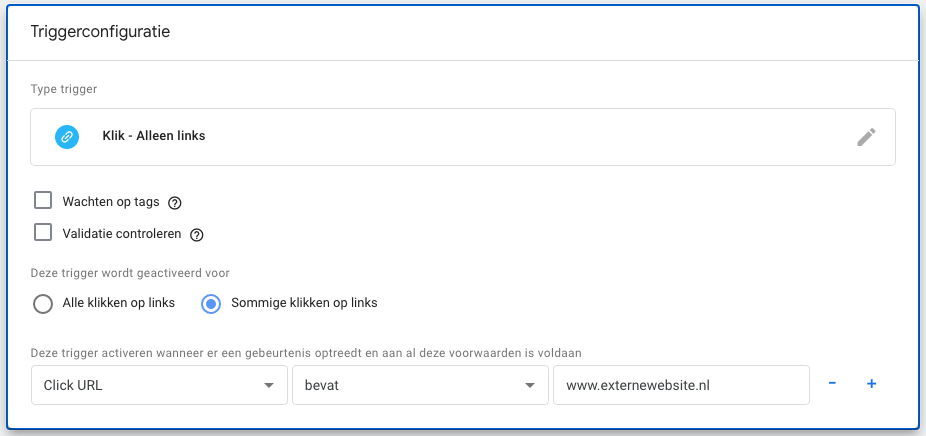 Google Tag Manager Outbound trigger