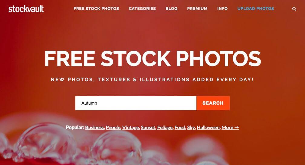 Gratis foto's downloaden via stockvault