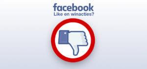 Waarom je nooi een Facebook winactie moet houden