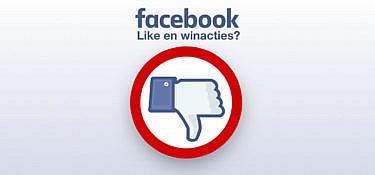 5 redenen waarom je nooit een Facebook winactie moet houden