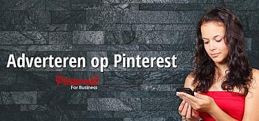 Adverteren op Pinterest nu mogelijk in Nederland