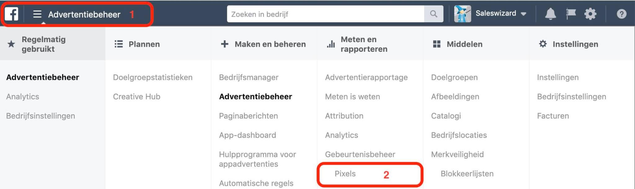 Facebook Pixel Installeren