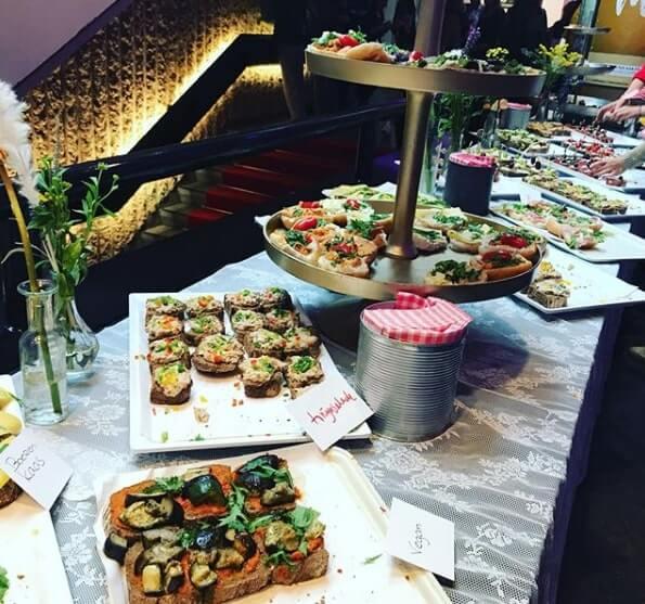 Eten tijdens het Social Media Ondernemers Congres