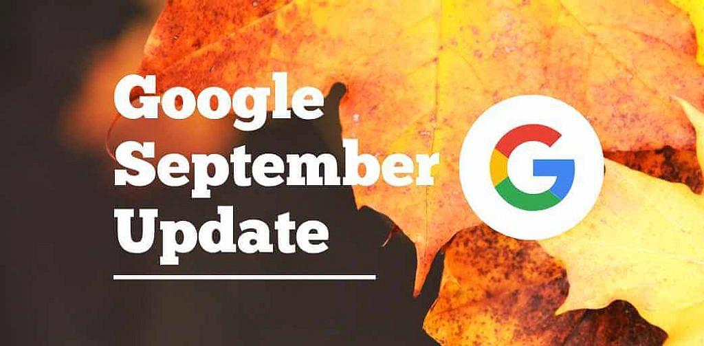 Google September Core Update 2019