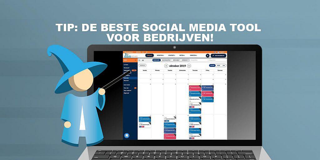 Tip: De beste social media tool voor bedrijven!