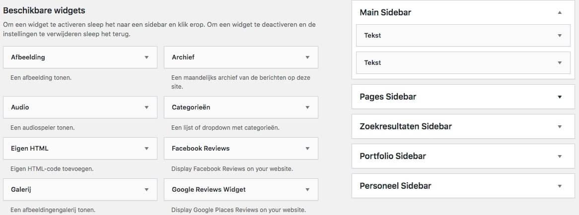 Facebook review widget