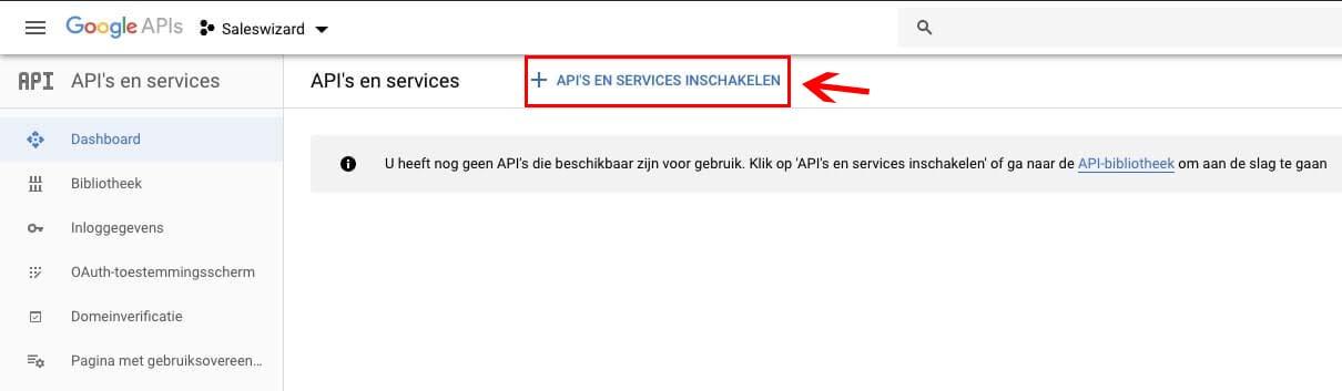 Google API en services