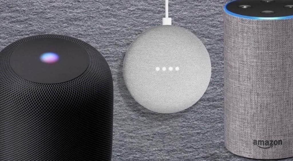 Slimme speakers voor Voice Search