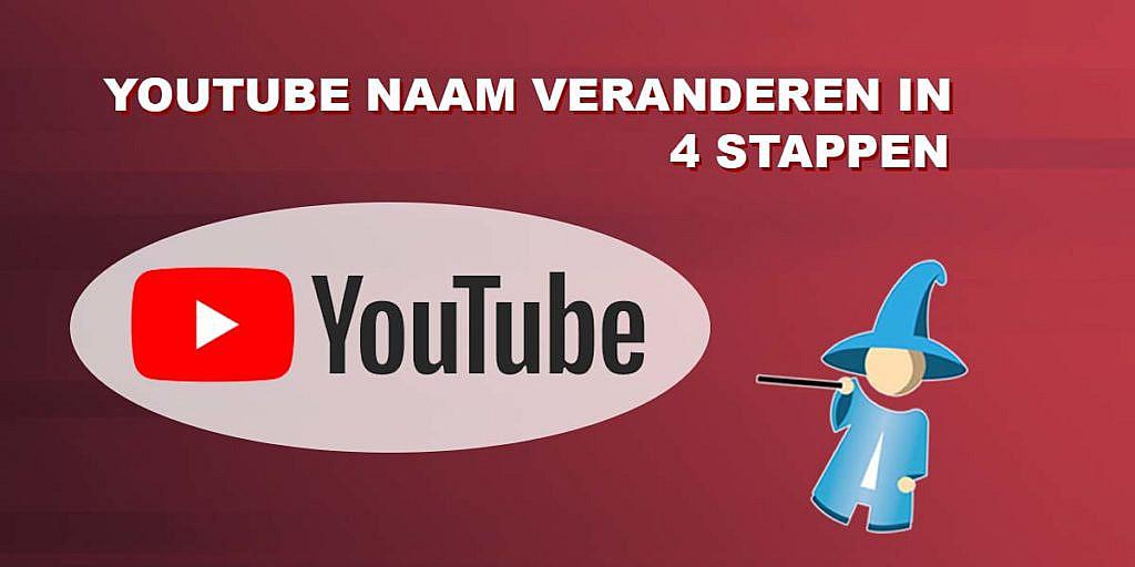 YouTube naam veranderen in 4 stappen