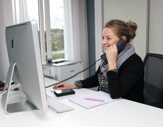 Online en telefonisch support
