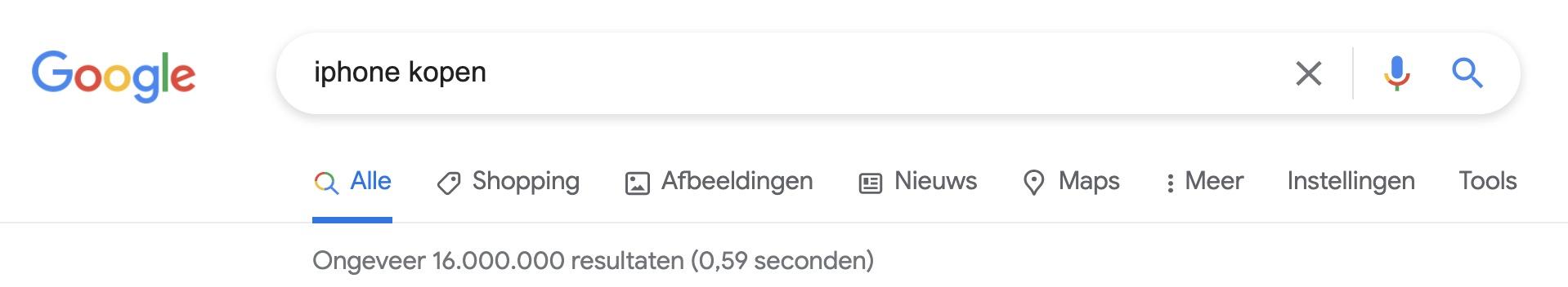 Google Dance - veel concurrentie